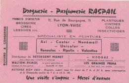BU 1826  /   BUVARD     -    DROGUERIE PARFUMERIE RASPAIL  LYON VAISE - Parfum & Kosmetik