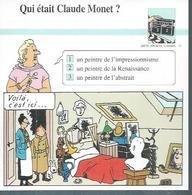 "FICHE ARTS, SPORTS, LOISIRS  N° 73  "" TINTIN  ""  ( Déssin: HERGE )       L'OREILLE CASSEE  - 15X15 - Hergé"