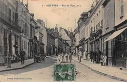 CPA AUXERRE - Rue Du Pont N°1 - Auxerre