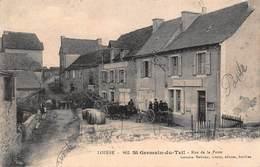 CPA LOZERE - 862 St-Germain-du-Teil - Rue De La Poste - France
