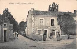 CPA BOURG-sur-CHARENTE - La Poste - France
