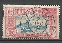 GUADELOUPE  N° 114 CACHET BASSE-TERRE - Oblitérés