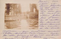 Carte Photo Fotokaart Brialmont 1903 (verzonden Van Tilff Naar Trooz : Chateau De Foret ) - Esneux