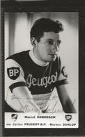 Cyclisme  Marcel ROHRNACH  (Dédicacé) - Cyclisme