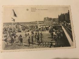 Carte Postale Ancienne Ostende – Oostende Club « Les Dauphins » - Oostende