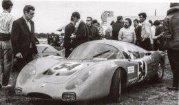 Moynet-Simca XZ68 - Pilotes: Jean Max/René Ligonnet (Concurrents Francaises Du Mans 1968) - PHOTO 15x10cms - Le Mans