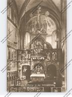 0-9295 WECHSELBURG, Schlosskirche, Innenansicht, Hochaltar - Freiberg (Sachsen)
