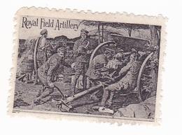 Vignette Militaire Delandre - Grande Bretagne - Royal Field Artillery - Erinnofilia