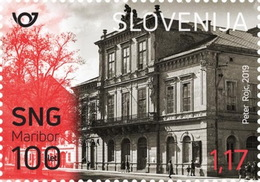Slovenia 2019 Mi.Nr. 1385 MNH (**) The 100th Anniversary Of The Slovene National Theater In Maribor - Slowenien - Slovénie