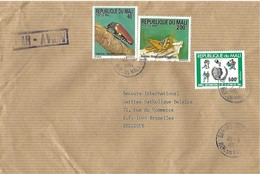 Mali 1994 Bamako Ewel Beetle Sternuera Castanea Grasshopper Insect Youth Year Cover - Autres