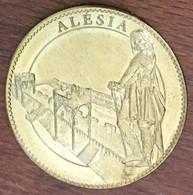 21 ALISE SAINTE REINE ALÉSIA VERCINGETORIX MÉDAILLE SOUVENIR ARTHUS BERTRAND 2009 JETON TOURISTIQUE MEDALS TOKENS COINS - Arthus Bertrand