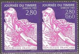 France - 1996 - Journée Du Timbre – Semeuse - YT 2990 Et 2991 Neufs Sans Charnière - MNH - France