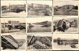 Liège - Lot 9 Cartes Ruines De Ponts (Wandre Fragnée Des Arches Val Benoit De Seraing De Coronmeuse...) - Liege