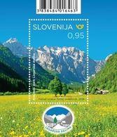 Slovenia 2019 Mi.Nr. 1383 MNH (**) Nature Parks In Slovenia - Logar Valley Nature Park - Slowenien - Slovénie