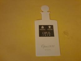1x Carte  Opus 1870 Penhaligon' S Chine - Cartes Parfumées