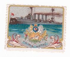 Vignette Militaire Delandre - Marine - H.M.S. Natal - Erinnofilia
