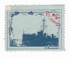 Vignette Militaire Delandre - Marine - H.M.S. Goshawk - Erinnofilia