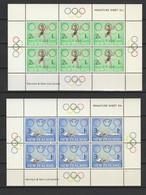 NOUVELLE ZELANDE BLOCS ET FEUILLETS 1968 YT N° BF 23 Et 24 ** - Blocs-feuillets