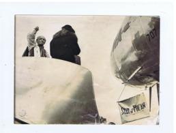 MILANO MALPENSA - BENEDIZIONE TWA AIR LINES - AEREO / PLANE  '' STAR OF MILAN - VOLO INAGURALE NEW YORK MILANO ROMA 1950 - Aviación