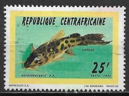 Central African Republic 1995. Scott #1090 (U) Fish, Auchenoglanis - Central African Republic