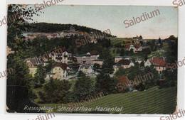 Riesengebirge Schreiberhau - Mariental -storia Psotale Feldpostkarte - Schlesien