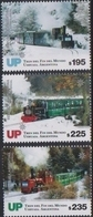 ARGENTINA, 2019,  MNH, TRAINS, TRAIN AT THE END OF THE WORLD, USHUAIA, 3v - Trains