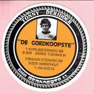 Sticker - TONNY DERIDDER - Banden Bernaerts - Kapelsesteenweg Ekeren - Bouwelsesteenweg Herenthout - DE GOEDKOOPSTE - Stickers