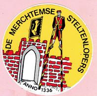 Sticker - DE MERCHTEMSE STELTENLOPERS - Stickers