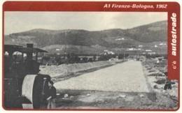 *ITALIA: VIACARD - A1 FIRENZE - BOLOGNA, 1962 (L. 100000)* - Usata - Non Classificati