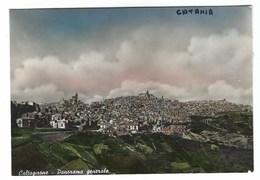 2148 - CALTAGIRONE PANORAMA GENERALE CATANIA 1950 CIRCA - Catania