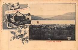 NUSSDORF Am ATTERSEE AUSTRIA~BRAU U TASTHAUS LUDWIG HOFMANN~R TREBITSCH 1919 MULTI PHOTO POSTCARD 42953 - Attersee-Orte