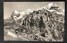 Mürren Dorfansicht Eiger Mönch Jungfrau - BE Berne