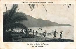 Samoa Cpa Ile De Tutuila Peche Au Lauloa à Pagopago Pecheur Missions Des Peres Maristes En Oceanie - Samoa Americana