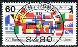 Berlin - Mi 758 - Zentriisch OO Gestempelt (A) - 60Pf  Europatag - Berlin (West)