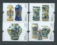 Año 2008 Nº 3308/1 Tarros De Ceramica - 1910-... Republik
