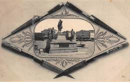 CPA AJACCIO - Monument De Napoléon Et Hôtel De France - Ajaccio