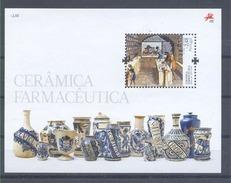Año 2008 Hoja Nº 279 Tarros Farmaceuticos En Ceramica - Blocks & Kleinbögen