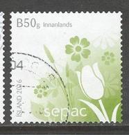 Ijsland, Yv 1425 Jaar 2016,  Gestempeld - Gebraucht