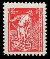 SBZ MECKLBRG VORP. Nr 25a Postfrisch X87FF46 - Zona Soviética