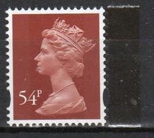 Great Britain Decimal Machin 54p Définitive Stamp. - 1952-.... (Elizabeth II)