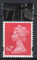 Great Britain Decimal Machin 62p Définitive Stamp. - 1952-.... (Elizabeth II)