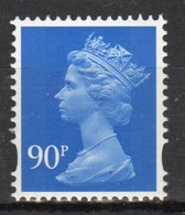 Great Britain Decimal Machin 90p Définitive Stamp. - 1952-.... (Elizabeth II)