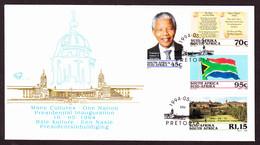 South Africa - 1994 - Nelson Mandela Inauguration, National Anthem, Flag, Union Building - Sud Africa (1961-...)