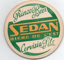 Sous  Bocks   Prince Beer  Sedan Biere De L Est  Cervisia Pils - Portavasos