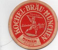 Sous Bocks  Kochel  Brau Munchen  Veritable  Biere De Munich - Portavasos