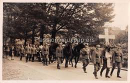 CARTE PHOTO ARNHEM 1940 BEGRAFENIS OBERLEUTNANT ERICH FISCHER - 10 - Arnhem