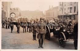 CARTE PHOTO ARNHEM 1940 BEGRAFENIS OBERLEUTNANT ERICH FISCHER - 5 - Arnhem