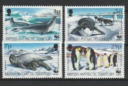 BAT British Antarctic Territory 1992 YT N° 213 à 216 ** - Territorio Antartico Britannico  (BAT)