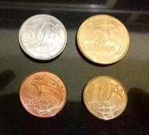 LSJP BRAZIL 4 COINS 2015 - Brazil