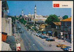 °°° 15505 - TURKEY - EDIRNE - SEHIR Ve SELIMIYE CAMII - 1990 With Stamps °°° - Turkey